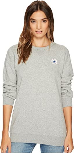 Converse - Core Oversized Crew Fleece Top