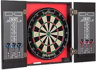 EastPoint Sports Belmont Bristle Dartboard and Cabinet Set
