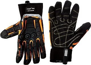 Cestus Gloves - Deep II Grip RED 3075R - Medium Glove, (Pack of 1 Pair)