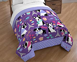 Limited Too French Bulldog Reversible Full/Queen Comforter