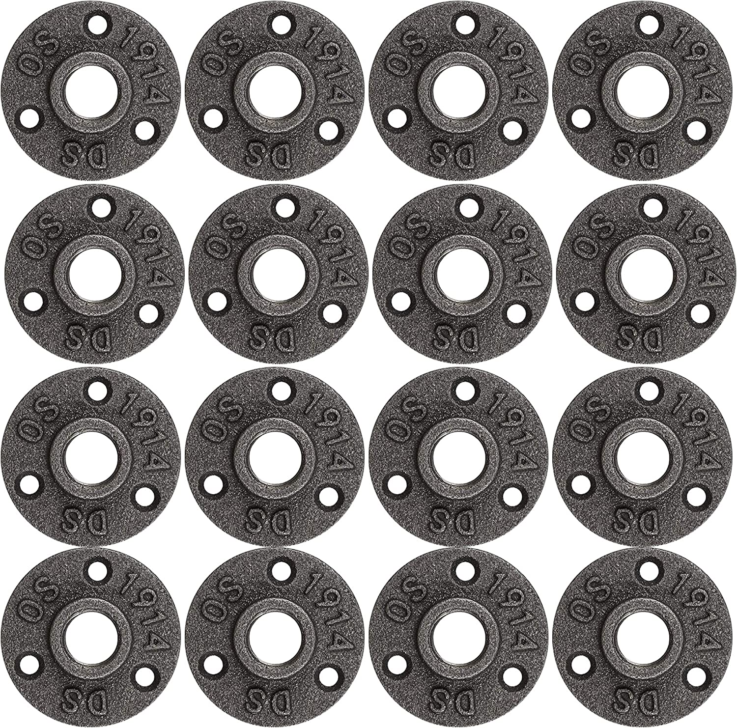 Brooklyn Pipe Flange - 20 NEW before selling ☆ Pack 1 P 2 Iron NEW before selling ☆ Inch Cast Floor