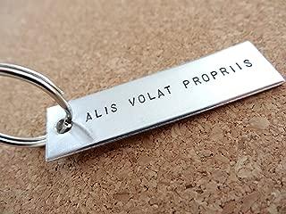 Alis Volat Propriis Keychain