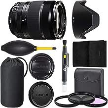 Fujifilm XF 18-135mm OIS WR: (16432853) Fujifilm XF 18-135mm f/3.5-5.6 R LM OIS WR Lens + AOM Pro Starter Bundle Kit - International Version (1 Year AOM Warranty)
