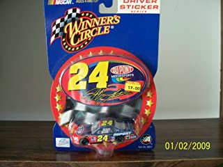 2002 Jeff Gordon #24 Dupont 2006 Monte Carlo 1:64 1/64 Scale Car With Bonus Oval Shaped Decal Winners Circle