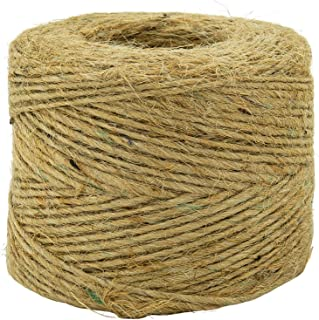Jute Twine (4 Pack) - SGT KNOTS - 100% All-Natural Jute Fibers - Emergency Fire Starter String - All-Purpose Crafting Twine - for Home Improvement, Gardening, Camping, DIY Projects, More (285 feet)