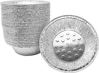 (120 Pack) Premium 5-Inch Pie Pans l Extra-Heavy Duty l Aluminum Foil for Baking Quiche Top Baker's Choice Pie Tart Pan Tins