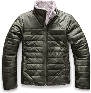 The North Face Girls` Reversible Mossbud Swirl Jacket
