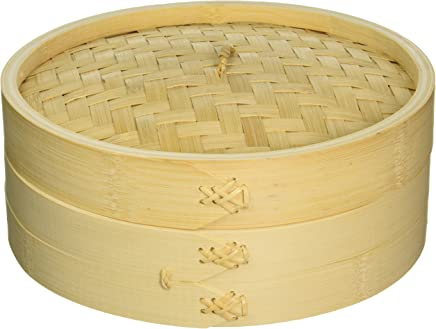 featured product Cook Pro 353 Asian Bamboo Steamer with Lid,  10,  Wooden