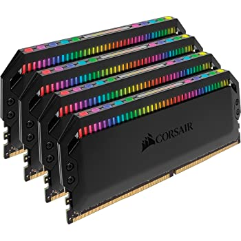 Corsair Dominator Platinum RGB 16GB (2x8GB) DDR4 3600 (PC4-28800) C18 1.35V Desktop Memory