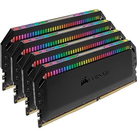 Corsair Dominator Platinum RGB 32GB (4x8GB) DDR4 3000 (PC4-24000) C15 1.35V Desktop Memory