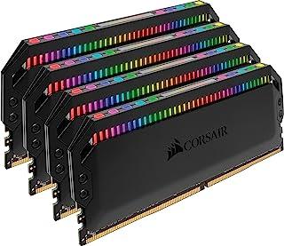 CORSAIR CMT16GX4M2C3600C18 Dominator Platinum RGB DDR4 3600 Desktop Memory Kit, Black, 16GB (2x8GB)