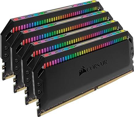 CORSAIR Dominator Platinum RGB 32GB (4x8GB) DDR4 3600 (PC4-28800) C18 1.35V Desktop Memory
