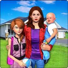 familia virtual nueva aventura bebé solo mamá