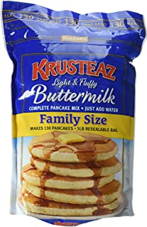 Krusteaz Pancake Mix, Complete, Buttermilk 5 lb (Packaging May Vary)