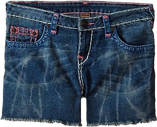 [トゥルーレリジョン] True Religion Kids ガールズ Joey Super T Shorts (Big Kids) パンツ [並行輸入品]
