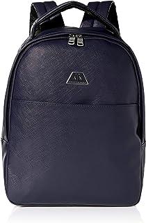 Armani Exchange Backpack with Handle, Mochilas para Hombre, 42x12x30 centimeters (B x H x T)
