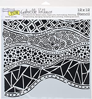 CRAFTERS WORKSHOP TCW743 Template 12