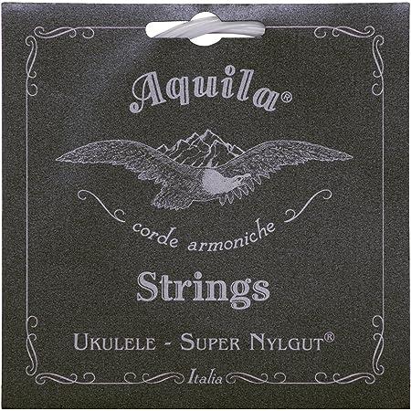 Aquila Super Nylgut AQ-107 Tenor Ukulele Strings - Low G - 1 Set of 4