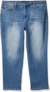 Women's Mandie Signature Fit High Rise Straight Leg Jean
