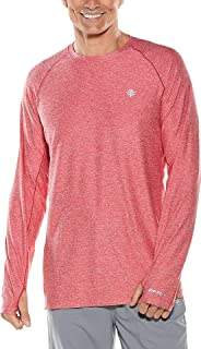Coolibar UPF 50+ Men's Long Sleeve Performance Tee - Sun Protective