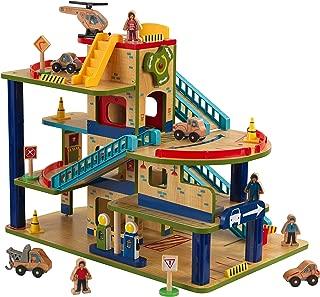 kidkraft wooden garage