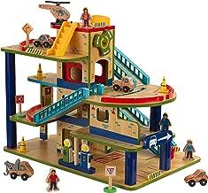 KidKraft Wash N Go Wooden Car Garage Playset