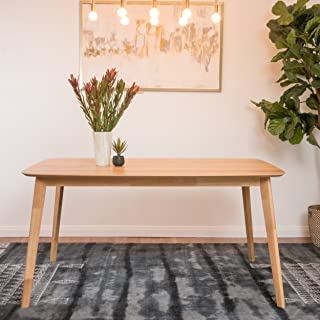 Christopher Knight Home Anne Natural Oak Finish Wood Dining Table