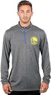 UNK NBA Men's Quarter Zip Pullover Shirt Athletic Quick Dry Tee