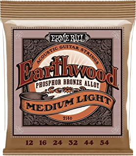 Ernie Ball 2146 Earthwood Medium Light Acoustic Phosphor...