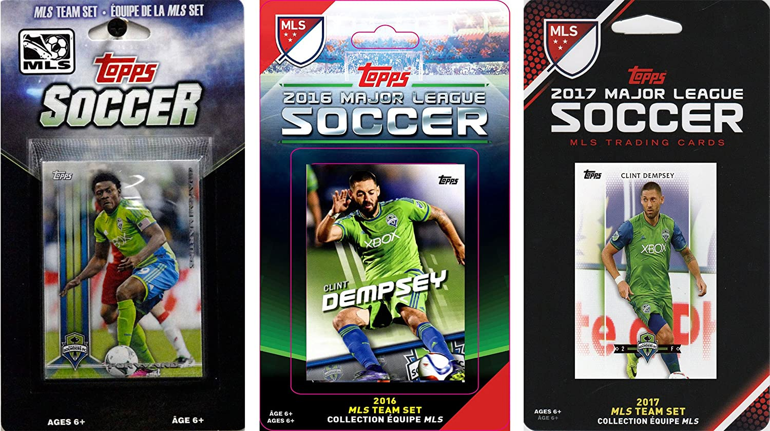 MLS Seattle Sounders Men's 3 Licensed Tea Latest item Trading security Different Card