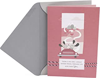 Hallmark Valentine's Day Card for Significant Other (Travel Through Life)