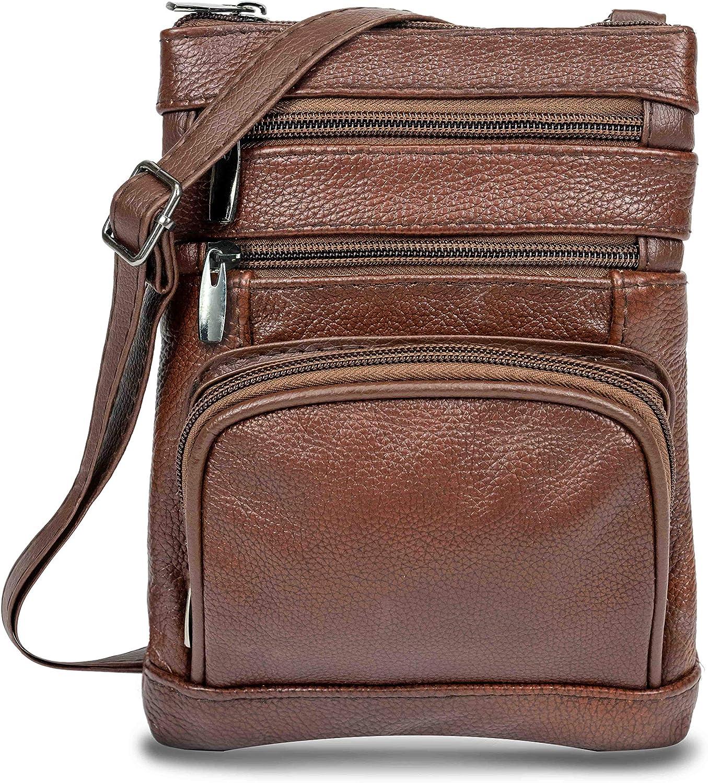 Genuine Leather Cross Louisville-Jefferson County Mall Handbag Body Ranking TOP16