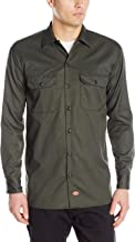 dark green work shirt