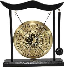 Zen 12 mesa Gong del zodiaco chino Feng Shui meditación campana decoración del hogar estreno de bendición a diestro y sini...