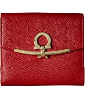 Salvatore Ferragamo - Gancini French Fold-Over Wallet