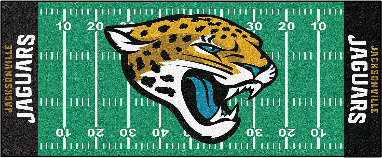 FANMATS NFL Jacksonville Kansas City unisex Mall Jaguars Nylon Face Field Runne Football