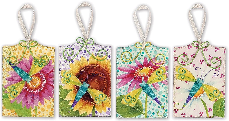 Sunset Vista Motive Libelle Anhänger Design von Debra Grogan, 4 Stück B00CYH69M0   Verschiedene Stile und Stile