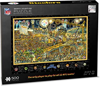 NFL Pittsburgh Steelers Joe Journeyman Puzzle - 500-piece