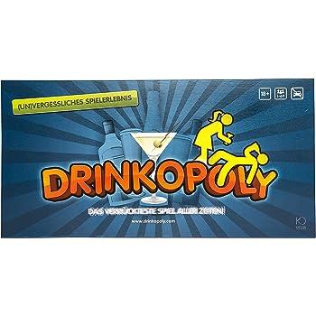 Drinkopoly - Gesellschaftsspiel - an das Sie sich (un)gern erinnern mögen!