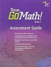 Houghton Mifflin Harcourt Go Math!: Assessment Guide Grade 3