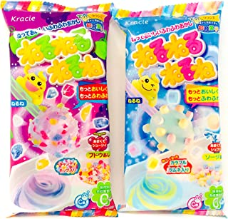 Kracie Popin Cookin DIY Happy Kitchen Japanese Making Candy Kit Select Value Set (2 pcs set neruneru)