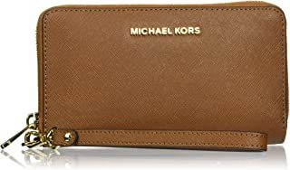 Michael Kors Women's Jet Set Travel Large Smartphone Wristlet