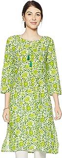Amazon Brand - Myx Women's Cotton straight Kurta