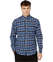 Naked & Famous - Easy Shirt - Northern Brushed Flannel Button-Down Shirt