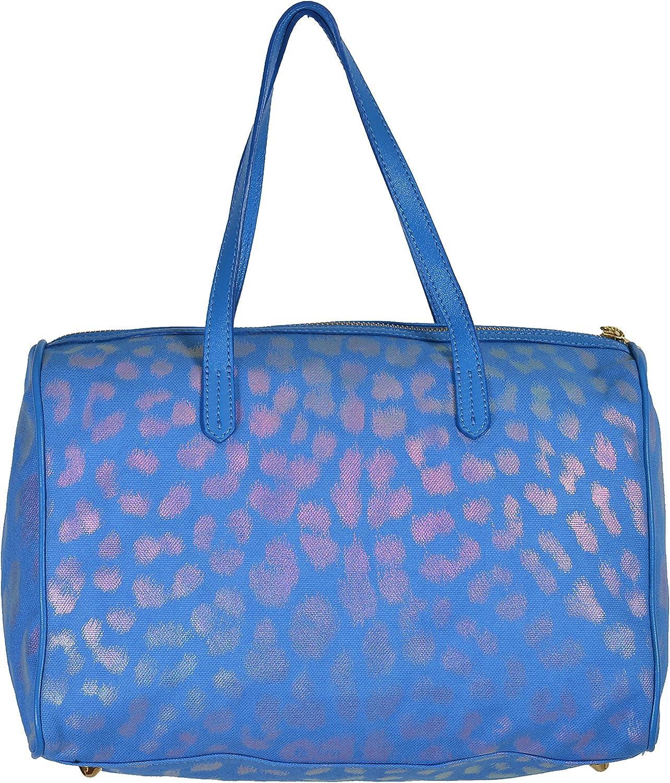 Just Cavalli Women's Multicolor Leather Trimmed Handbag Bag