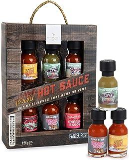Modern Gourmet Foods Chili-Saucen Probier-Set - Geschenk-Set Mit 6 Scharfen Saucen à 21 g - International Inspiriert