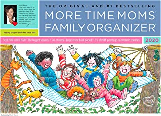 More Time Moms - Family Organizer Wall Calendar - September 2019 to December 2020 (2019-2020)