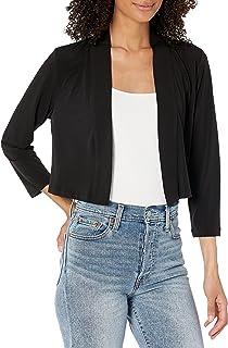 Calvin Klein Women's Basic Cardigan, Black, X-Large