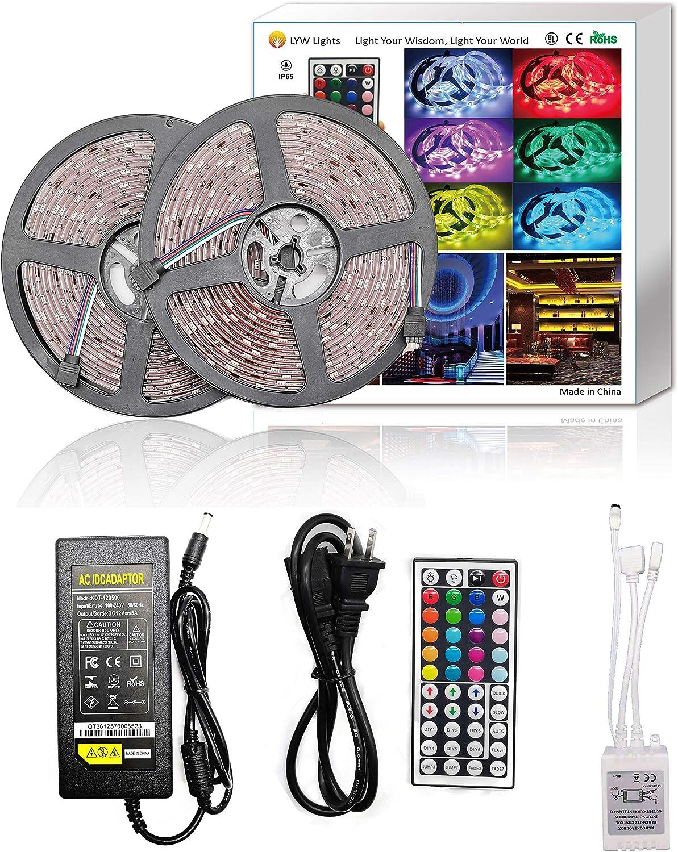 32.8Ft LED Strip Light Kit 12V Inexpensive 300 SMD Lights 5050 Waterpro Large special price !!