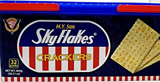 M.Y. San SkyFlakes Philippino Crackers 32 Packs 800g